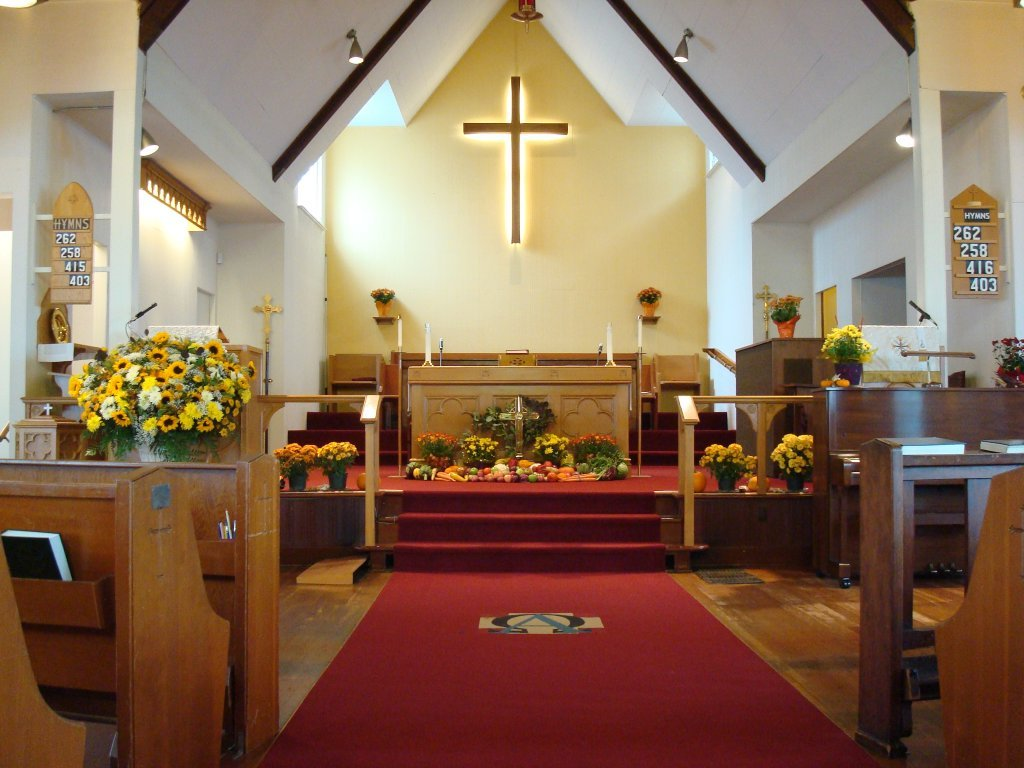 Thanksgiving Sunday Decorations | St Thomas Anglican Church